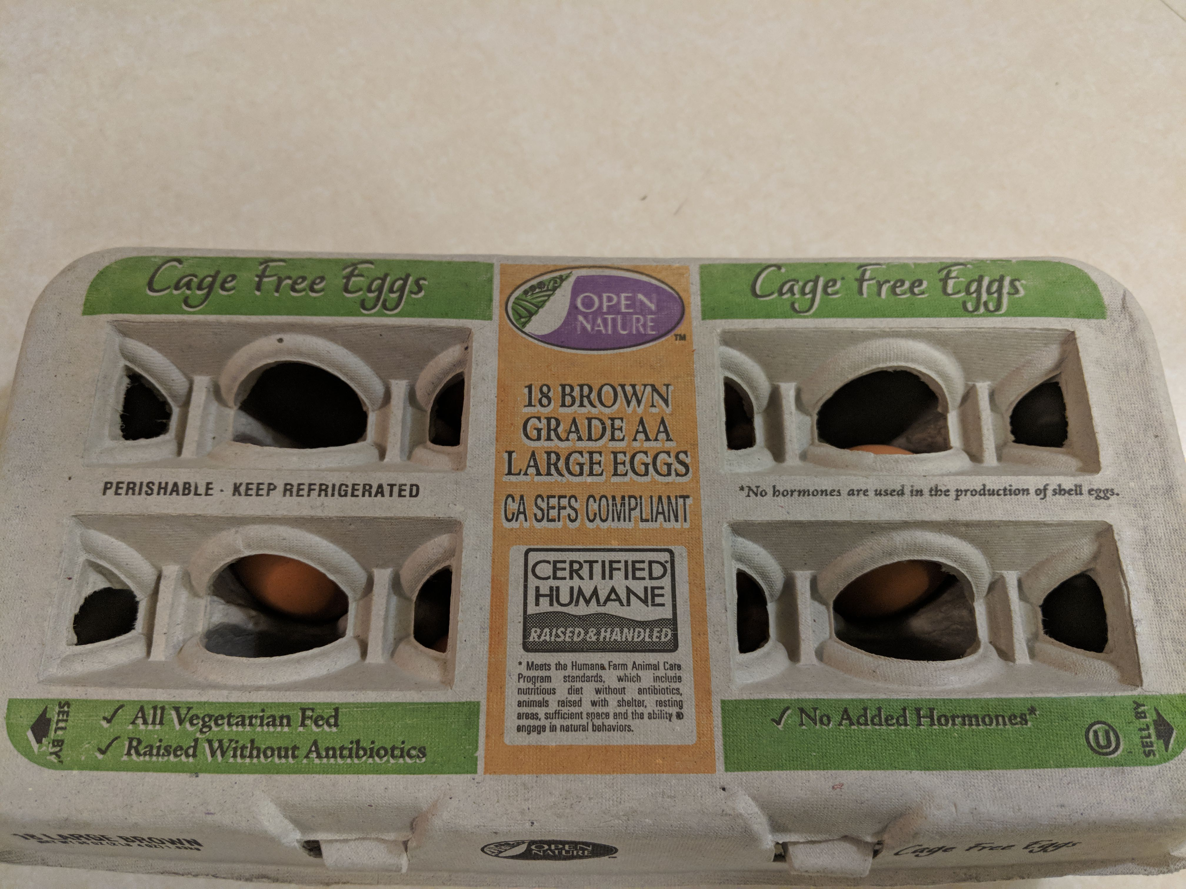 Fresh Cheapest Large Brown Eggs