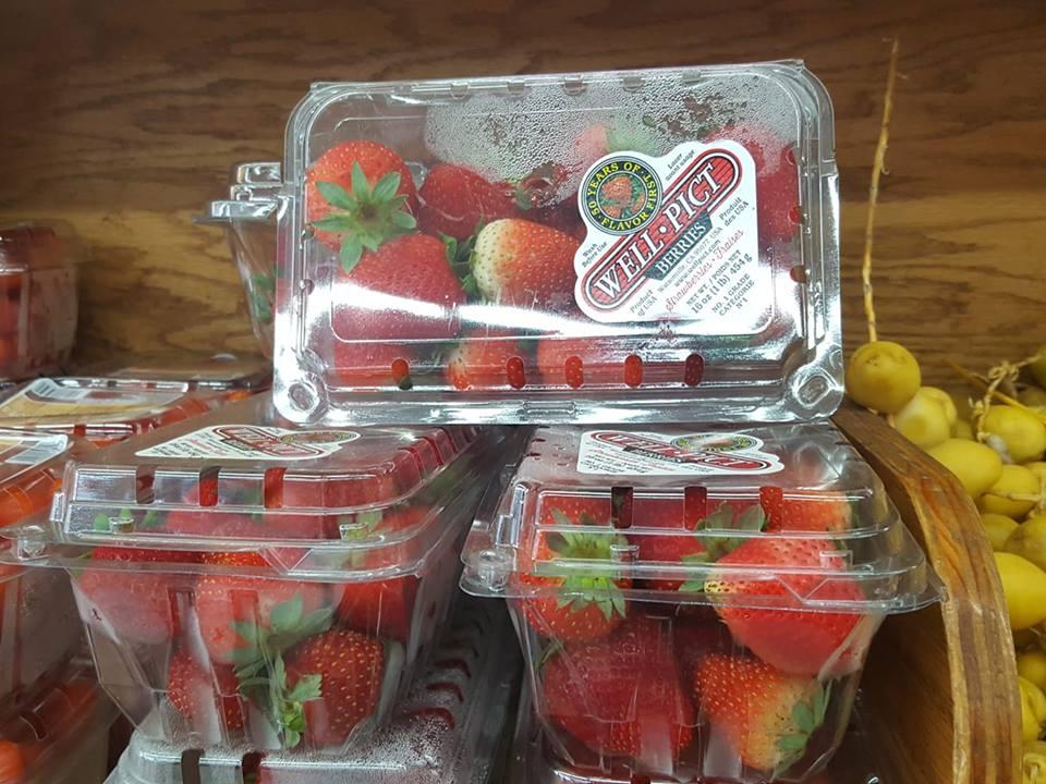 Fresh cheapest strawberries